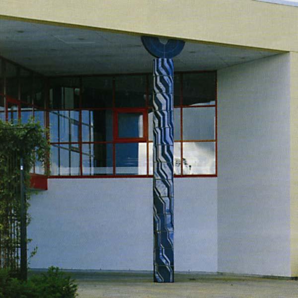 Søjle, TV2 i Vordingborg h. 7,5m, 1990